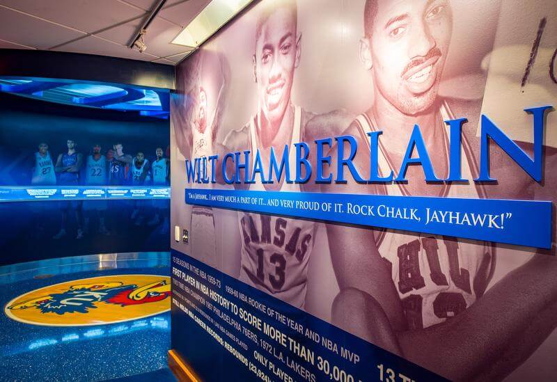 University of Kansas Basketball Locker Room
