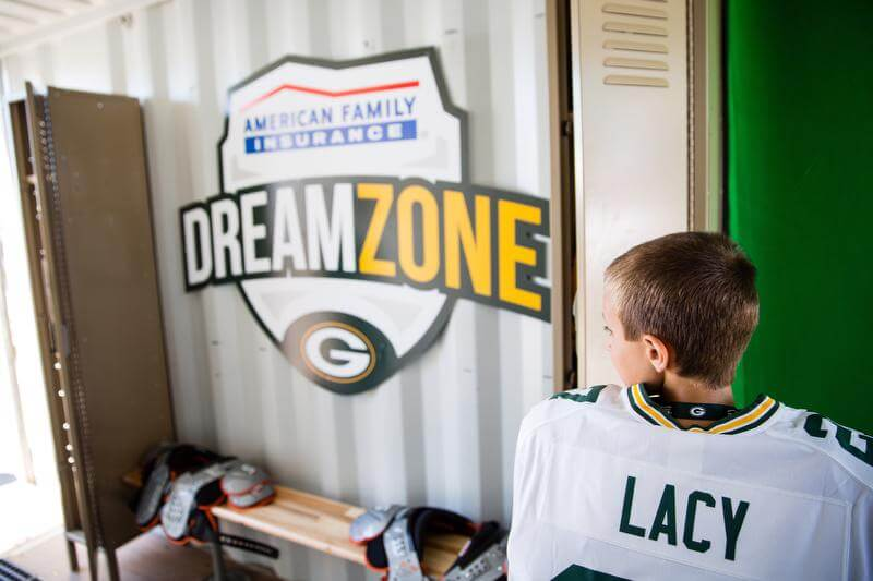 Greenbay Packers American Family Insurance DreamZone