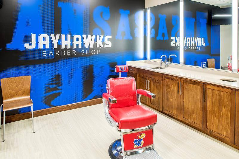 KU-Basketball-Barber-Shop