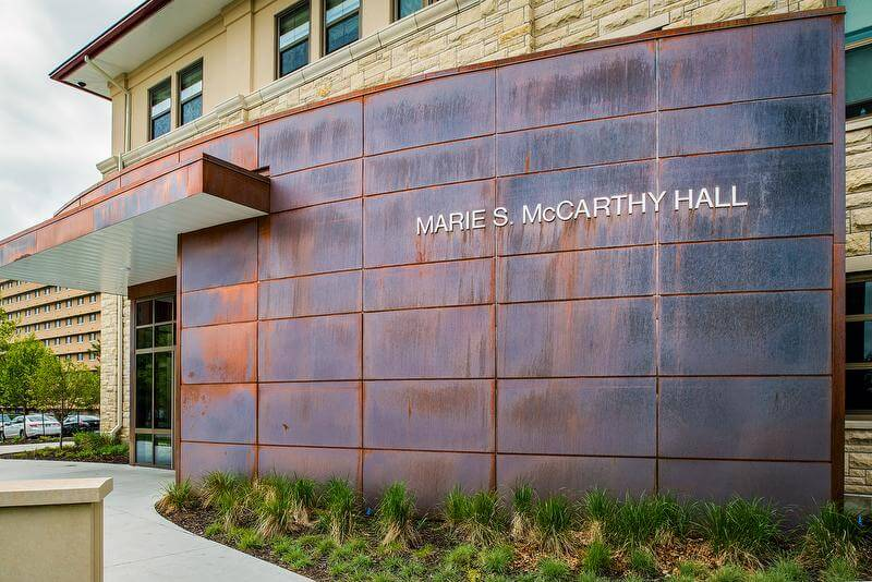 McCarthy-Hall-Exterior-Sign