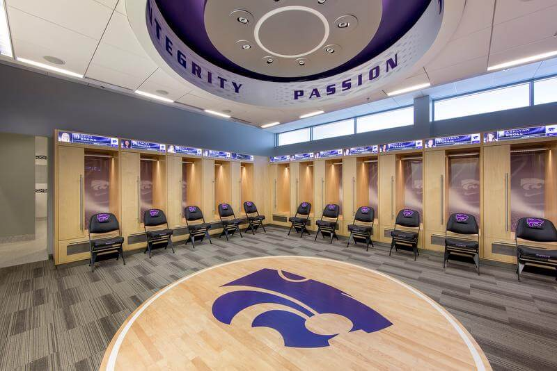K-State University Basketball Training Facility